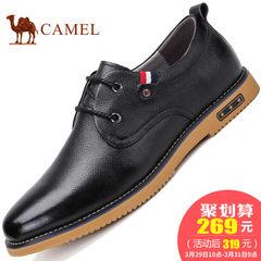CAMEL骆驼男鞋2017新款日常休闲皮鞋真皮商务休闲鞋舒适潮男鞋子