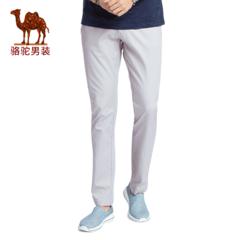 Camel/骆驼男装 2017夏季新款时尚修身休闲裤商务休闲长裤青年男