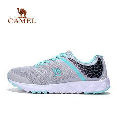 【2017新品】骆驼运动跑鞋 女款防滑耐磨跑步鞋休闲透气运动鞋