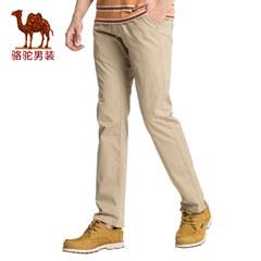 Camel/骆驼男装 2017夏季新品时尚修身小脚休闲裤商务休闲长裤男