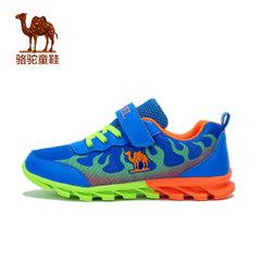 小骆驼童鞋2017春季新款中童儿童户外运动鞋男童魔术贴休闲跑步鞋