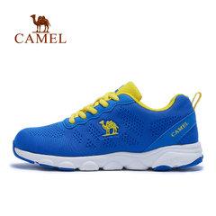 【2017新品】CAMEL骆驼儿童跑步鞋 网布飞织一体防滑男女童运动鞋