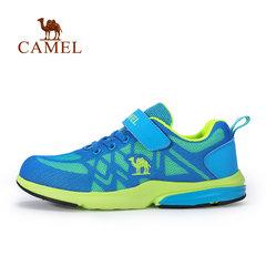 【2017新品】CAMEL骆驼春季网布儿童跑步鞋缓震男童网面运动鞋