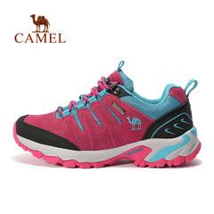 CAMELyabo sports app户外徒步鞋 男女情侣款反绒皮徒步鞋