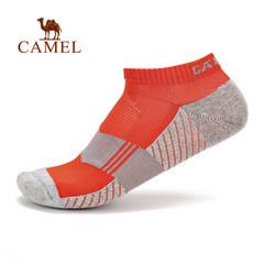 【2017新品】骆驼户外男款毛圈袜 吸汗透气弹性舒适男士短筒袜子