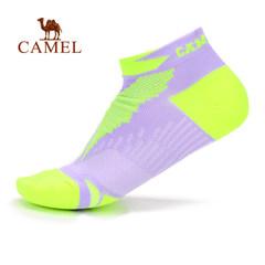 【2017新品】骆驼运动袜 女款短筒袜回弹吸汗轻柔舒适运动袜子女