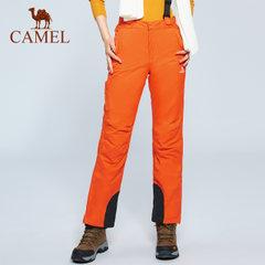 骆驼户外滑雪裤 男女情侣款冬季户外运动滑雪保暖裤