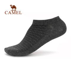 【2017新品】骆驼男款运动袜 吸汗轻柔舒适面料短筒袜男士休闲袜