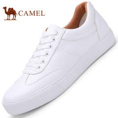 CAMEL骆驼情侣鞋 2017新款时尚休闲鞋男女板鞋低帮情侣款小白鞋
