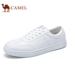 Camel/骆驼男鞋2017秋季新品时尚休闲滑板鞋运动小白鞋情侣款板鞋