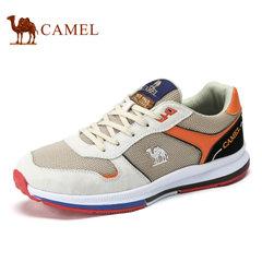 Camel/骆驼男鞋2017春季新品时尚休闲透气网面鞋低帮运动休闲男鞋