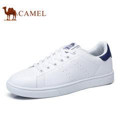Camel/骆驼男鞋2017秋季小白鞋百搭时尚板鞋情侣款低帮运动休闲鞋