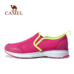 【2017新品】骆驼户外徒步鞋 春夏女款透气防滑耐磨套脚徒步鞋