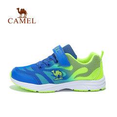 【2017新品】骆驼童鞋春季中童跑鞋男童网面跑步运动鞋透气休闲鞋