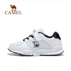 【2017新品】骆驼童鞋春季时尚小白鞋中童跑步鞋儿童跑步运动鞋