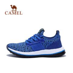 【2017新品】骆驼童鞋春夏大童男童飞线运动鞋青少年缓震跑步鞋