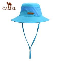 【2017新品】骆驼户外圆帽 男女通用防风遮阳帽渔夫帽徒步出游帽
