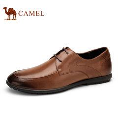 Camel/骆驼男鞋2017夏季新品复古时尚商务正装皮鞋潮 男士皮鞋