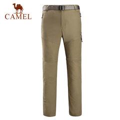 骆驼户外男款速干两截长裤 春夏快干耐磨徒步登山