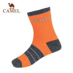 【2017新品】骆驼男童袜8-10岁儿童长筒袜条纹提花中童高筒袜子
