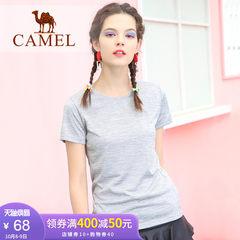骆驼速干衣男女短袖T恤 春夏舒适透气户外瑜伽健身跑步运动快干衣