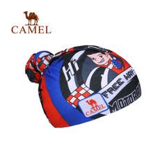 【2017新品】骆驼儿童骑行旅游休闲头巾 春夏儿童户外围脖面罩