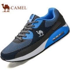 Camel/駱駝運動鞋健步鞋春夏季透氣網布鞋戶外運動休閑鞋跑步鞋男