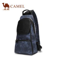 Camel/骆驼新款男士胸包运动休闲扎染单肩斜挎包男时尚男包包