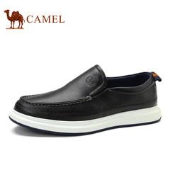 CAMEL骆驼男鞋 2017春季时尚套脚鞋舒适耐磨男士板鞋简约休闲低帮