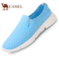 CAMEL骆驼情侣鞋 2017时尚情侣款单鞋轻质套脚女鞋透气低帮男鞋