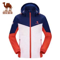 小骆驼童装2017年春季新款男童户外防风茄克儿童薄款运动外套夹克