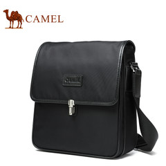Camel/骆驼男包2017新款男士单肩包商务休闲斜挎包男版小包男背包