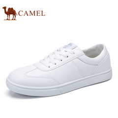 CAMEL骆驼情侣鞋 2017新品时尚休闲女鞋滑板鞋运动小白鞋低帮男鞋