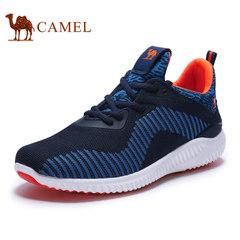 CAMELA骆驼情侣鞋 2017新款运动跑步鞋男鞋 轻质减震耐磨休闲女鞋