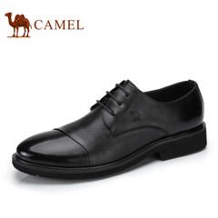 Camel/骆驼男鞋2017夏季新品男士皮鞋牛皮商务休闲鞋男青年皮鞋潮