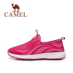 【2017新品】骆驼户外春夏新款 网面镂空透气轻便运动鞋休闲鞋
