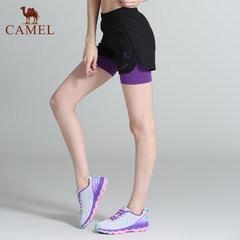 骆驼运动 2017新品女款运动短裤跑步健身瑜伽运动裤女休闲舒适