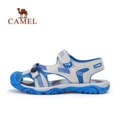 【2017新品】骆驼童鞋夏季儿童包头凉鞋男童女童透气沙滩鞋