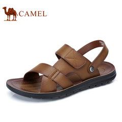 Camel/骆驼男鞋2017夏季新品男士透气沙滩鞋日常休闲男士凉鞋