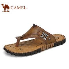 Camel/骆驼男鞋2017夏季新品户外休闲夹脚人字拖清凉拖鞋男