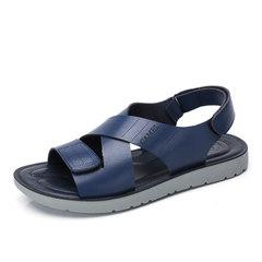 Camel/骆驼男鞋2017夏季新品凉鞋沙滩鞋子男士透气露趾凉鞋男
