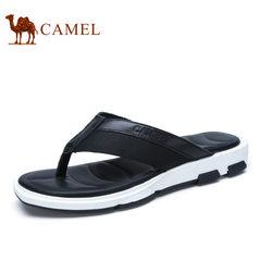 【断码清仓】Camel/骆驼男鞋沙滩人字拖鞋男士透气夏季夹脚拖鞋