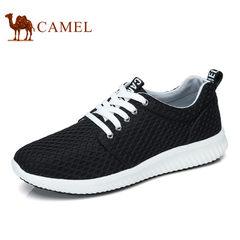Camel/骆驼男鞋2017夏季新品时尚运动鞋透气休闲鞋轻盈跑鞋潮流鞋