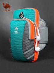 骆驼跑步手机臂包运动手臂包跑步包健身装备男手机袋女臂套手腕包