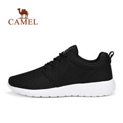 Camel/骆驼男鞋夏季户外系带舒适越野跑鞋 减震透气运动休闲鞋男