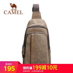 骆驼男包男士胸包 街头潮流大容量包包单肩斜挎背包休闲挎包