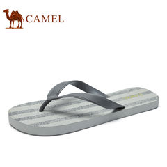 Camel/骆驼男女鞋2017夏季新品透气沙滩鞋户外人字拖情侣拖鞋