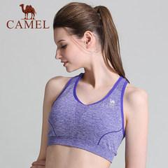 【2017新品】骆驼运动女舒适运动背心健身跑步瑜伽运动内衣文胸