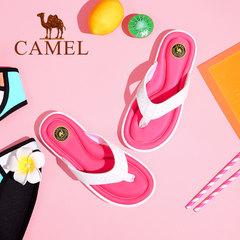 Camel/骆驼女鞋2017夏季新品 休闲拖鞋女 简约耐磨防滑凉拖鞋