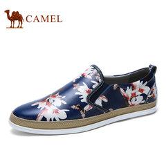 Camel/骆驼男鞋 时尚夏季舒适乐福鞋低帮板鞋休闲鞋潮流板鞋男